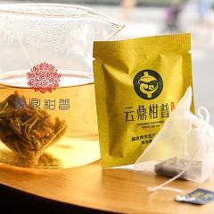 云鼎柑普 陈皮普洱云片·生茶(袋泡茶) 3克/袋