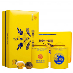 云鼎柑普 布朗古树柑普茶(全生晒生茶) 礼盒装  200克/盒