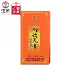 中茶六堡茶 野韵天香 梧州六堡茶 300克/盒