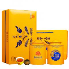 云鼎柑普 班章古树柑普熟茶(全生晒熟茶) 礼盒装 200克/盒