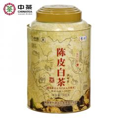 中茶蝴蝶白茶 5151陈皮白茶 5年新会陈皮+福鼎白茶 300克/罐