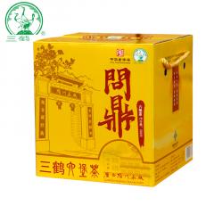 三鹤六堡茶 问鼎六堡茶 广西六堡茶 500克/盒
