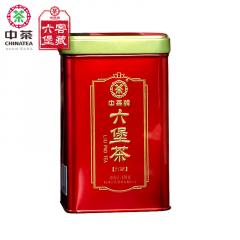 中茶六堡茶 红罐六堡茶 梧州六堡茶 150克/罐
