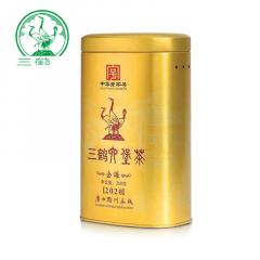 三鹤六堡茶 金罐六堡茶 广西六堡茶  200克/罐