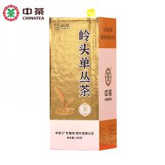 中茶 GT102岭头单丛茶 潮州单丛茶 200克/盒