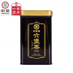 中茶六堡茶 黑罐六堡茶 梧州六堡茶 150克/罐