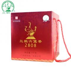 三鹤六堡茶 2808六堡茶 广西六堡茶  1000克/盒