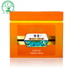 三鹤六堡茶 传奇六堡茶 团茶 梧州六堡茶 5000克/盒