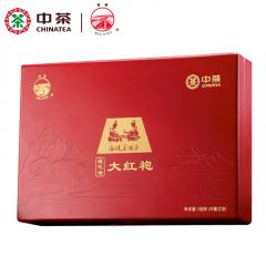 中茶海堤茶叶 AT056莲花峰大红袍 福建乌龙茶 武夷岩茶 100克/盒